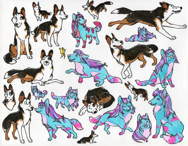 Sticker Commissions by Swift by crabbyash