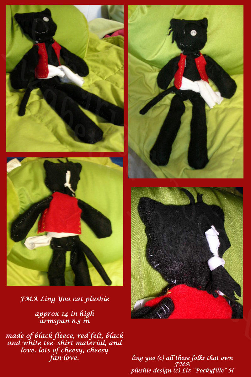 how to make a cat plushie