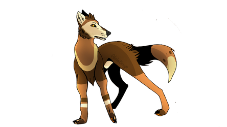 Art that i drew for a person on furry amino by Kotomu