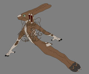 Anthro hare OTA CLOSED by Kotomu