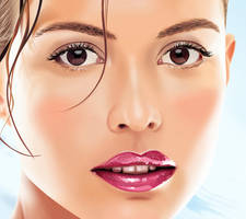 Josie Maran in vector by spearance