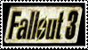 Fallout 3 logo stamp by Arcwelder1