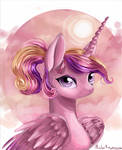 young princess cadance (without ribbon)
