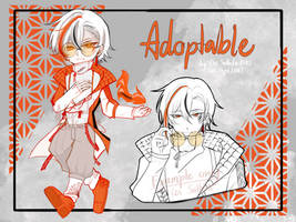 [OPEN] Adoptable#19 Goldfish by Cos-ccpd