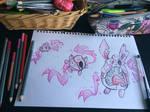 Igglybuff, Jigglypuff and Wigglytuff (Britannia F)