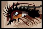 macro eye vector