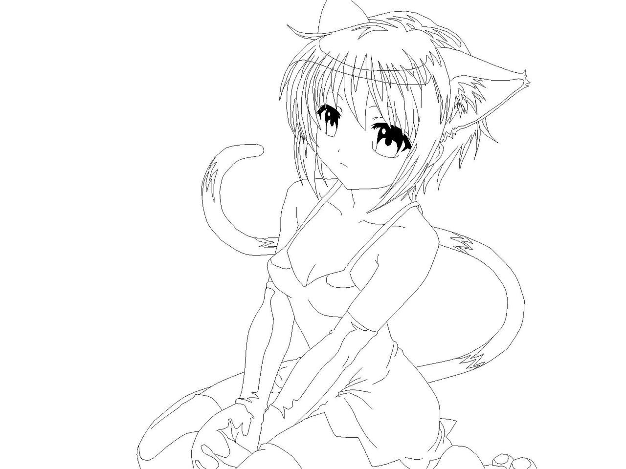 How To Draw A Manga Cat Girl  Solution for how to for dummies