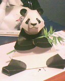 panda and bamboo by mor4674j