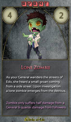 SoE Trading Card #2 - Lone Zombie Event