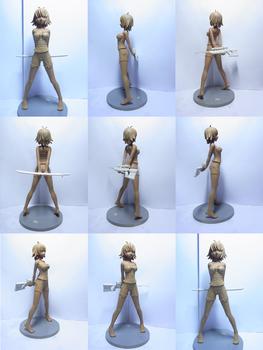 Rei - Clay Version Figurine