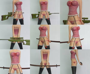 Swords of Edo Figurine - Rei Lingerie
