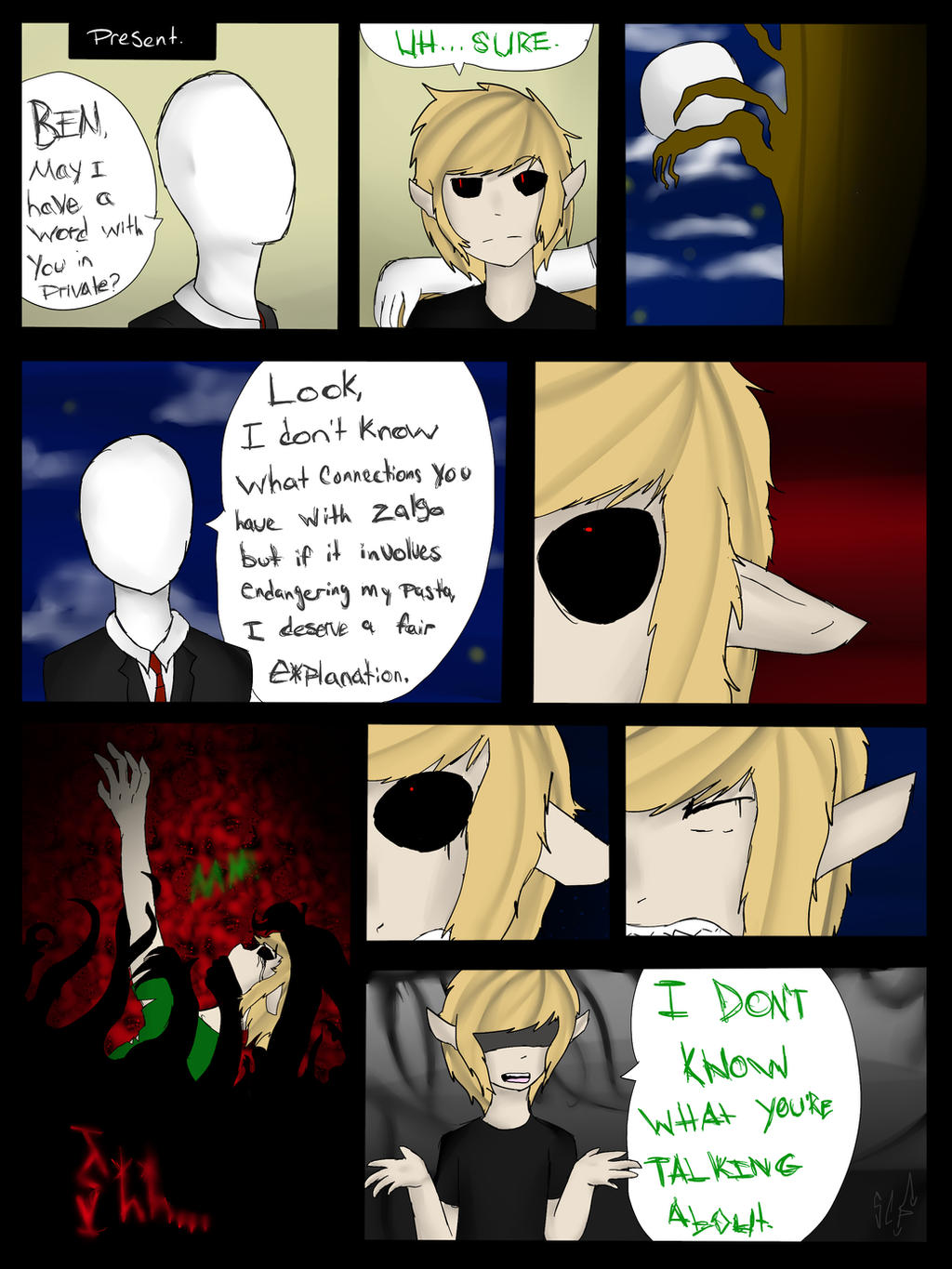Drown Me Out: Page 14 by SimpleChildsPlay