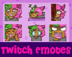 Twitch Emotes Commissions -Open- by SimpleChildsPlay