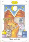 Tarot: The Moon by vikaherbs