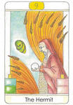 Tarot: The Hermit by vikaherbs