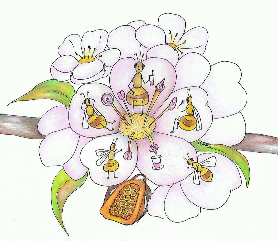 Sweet blossom meeting by vikaherbs