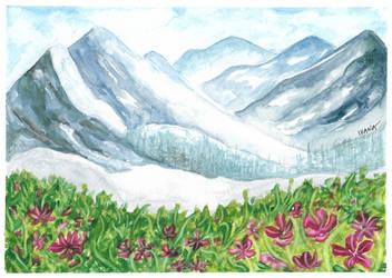 Landscape - watercolor training