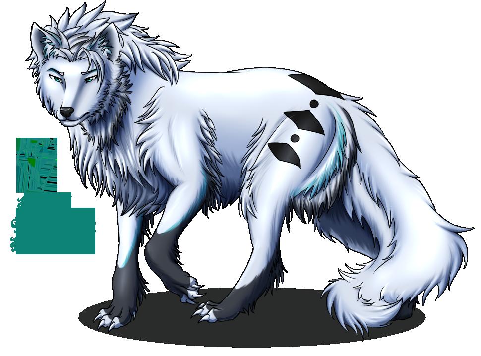 Hylianwolf -Gift- by PinkRose3101