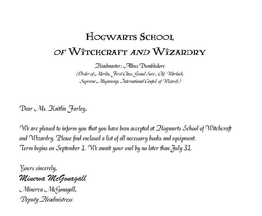 Hogwarts Letter of Acceptance Template Hogwarts Acceptance Letter 1 OqcMgMlF