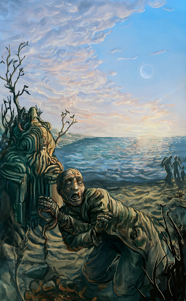 Lovecraft Ezine cover November 2011 by Dystoper