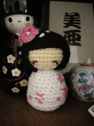 Amigurumi Kokeshi by AIMAccessoirDesign