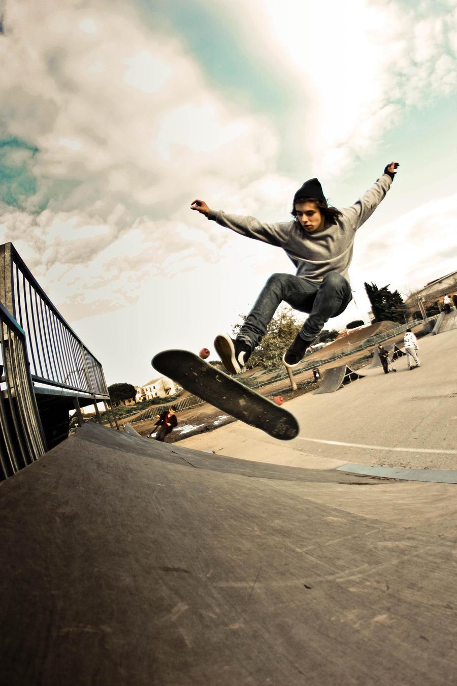 tre flip 4 by Kutsuu83 on DeviantArt