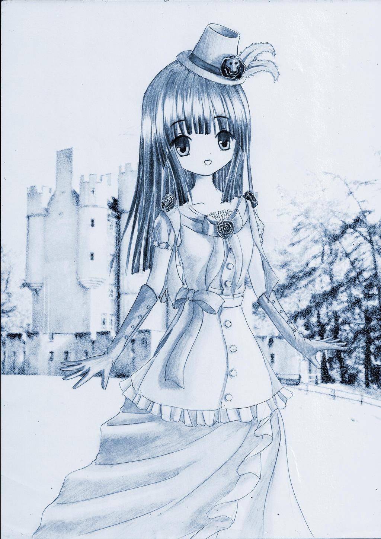 Cute girl by Kudo008