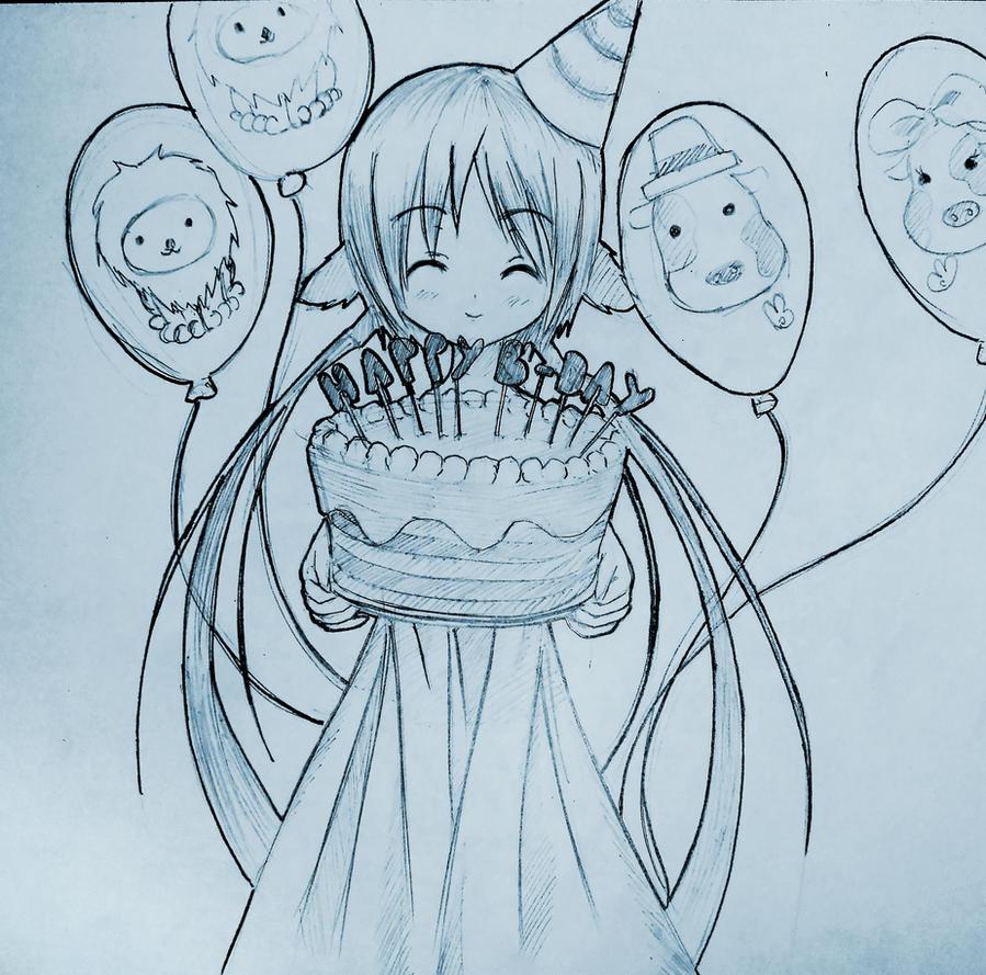 Happy birthday! by Kudo008