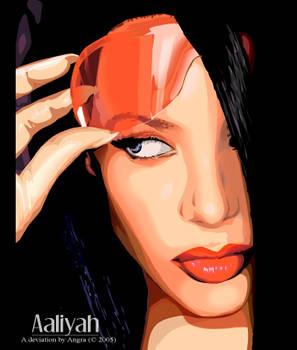 Aaliyah Vector.
