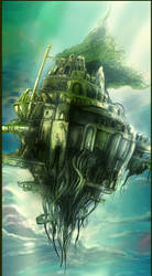 Castle in the Sky by kimag3500