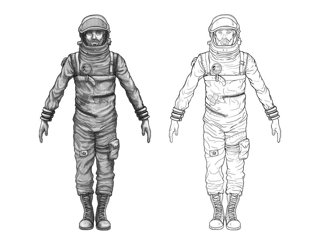 Astronaut Concept By RARA AVIS
