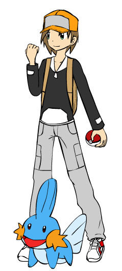 Me as a pokemon trainer by rapticon2008 on deviantart
