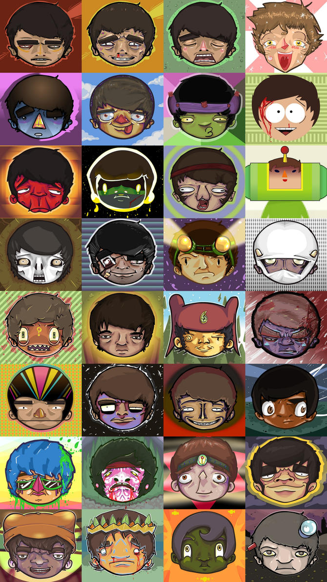 The Many Faces Of by sqeezy