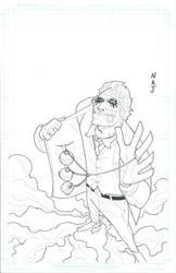 the joker by HELLISHSINESTRO