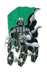 Vader by HELLISHSINESTRO