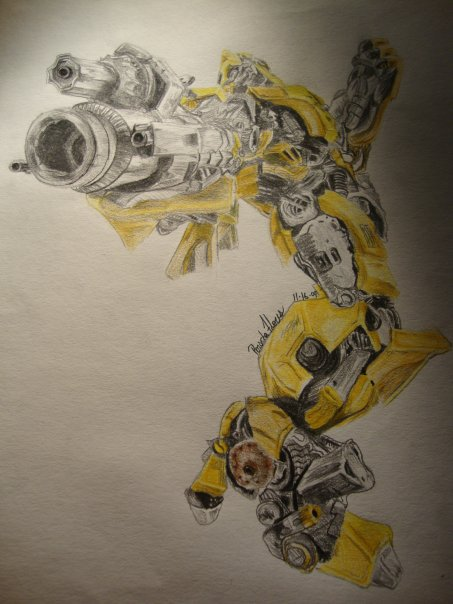 Bumble Bee by OllieOllieOxenfree