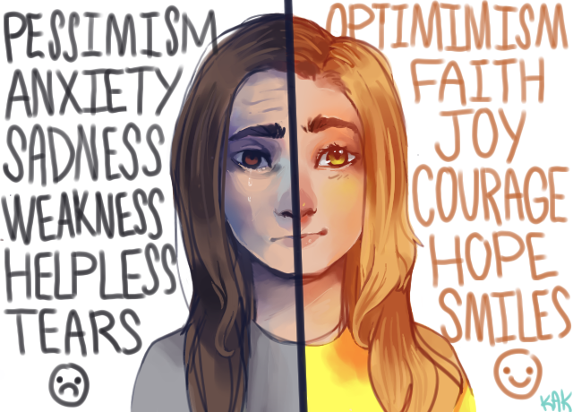 optimism and pessimism relationship counseling