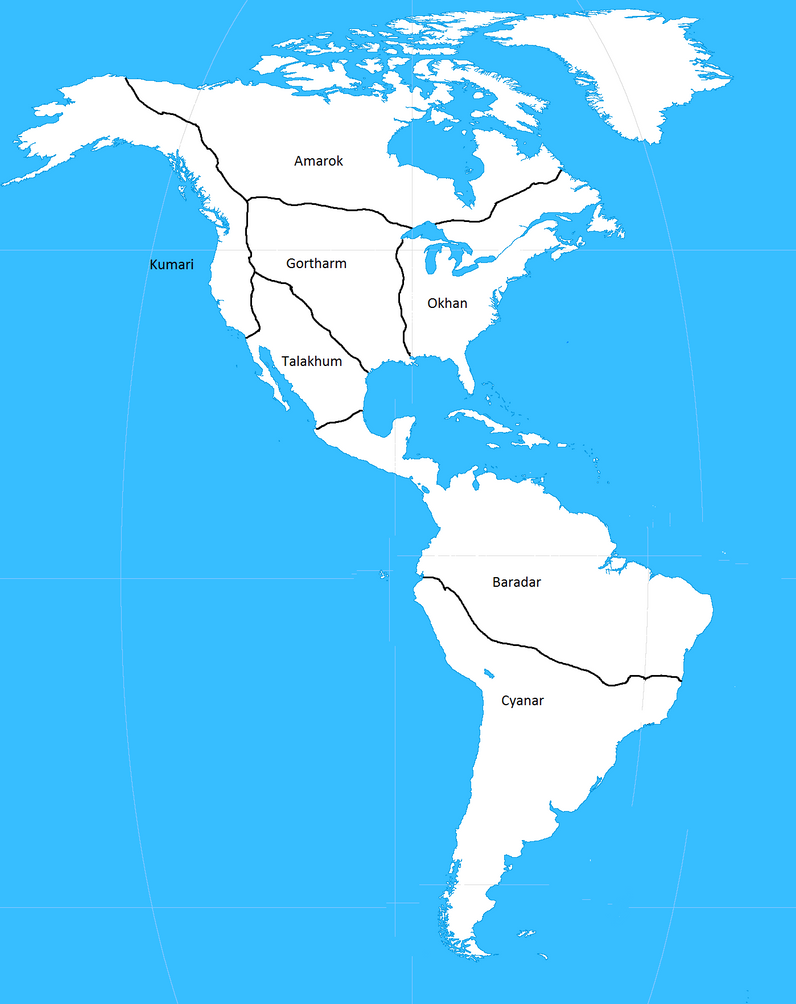 Map of Americanus by Orca217