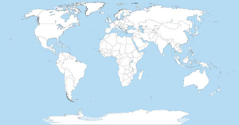 Political Map Of The World 2025
