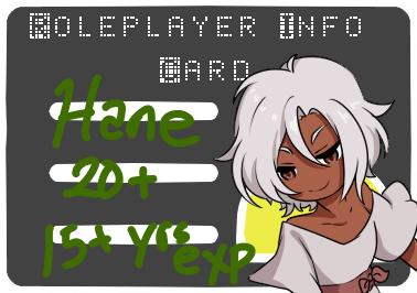 hane rp card by feather--weather