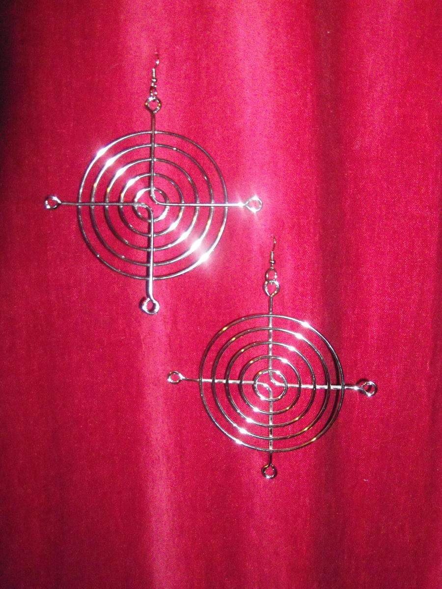 Simply Cyberpunk Earrings by LadyMidnight81