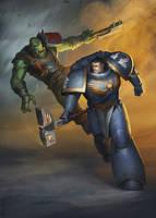 Warhammer 40k by AKIMBLYA