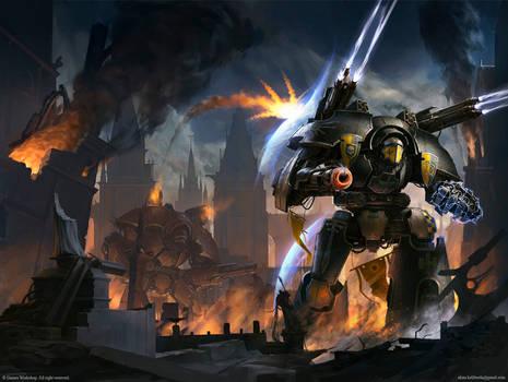 Warlord: Fury of the God-Machine by AKIMBLYA