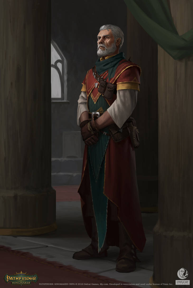 Pathfinder: Kingmaker - Cephal Lorentus by AKIMBLYA
