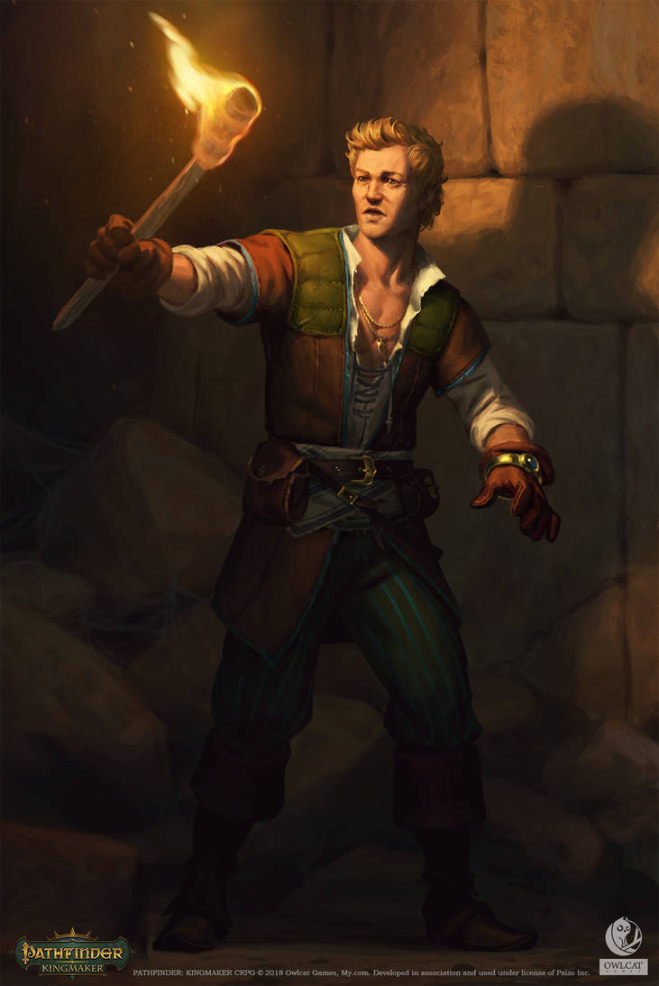Pathfinder: Kingmaker - Willas Gunderson by AKIMBLYA