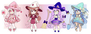 Open | Witches | Lockette Adopts