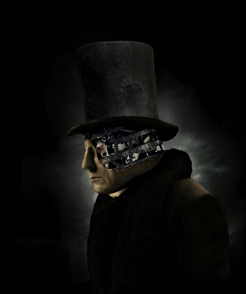 Half Face Man by SamLRolls