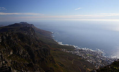 Other Side of Table Mountain by locked-inside