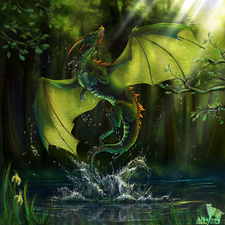 Dragon_var.II by AlsaresNoLynx
