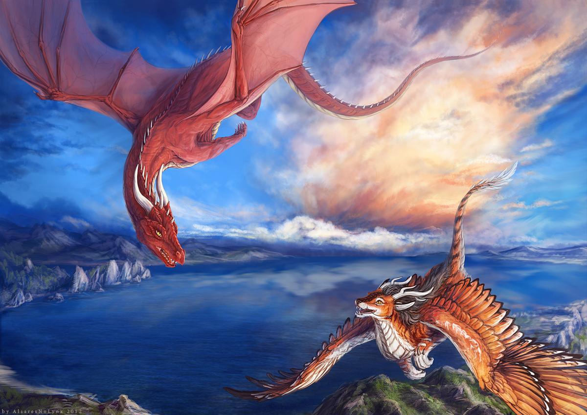 Tyger and Nemmy by AlsaresLynx